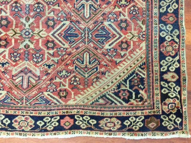 Antique Persian Mahal Rug-1159