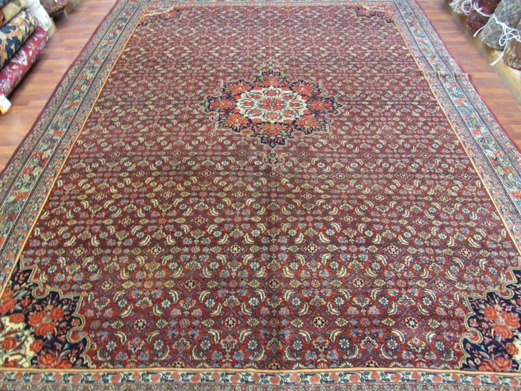 Antique Persian Bidjar Rug-2905