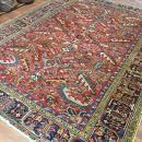 Antique Persian all over Heriz Rug-3784