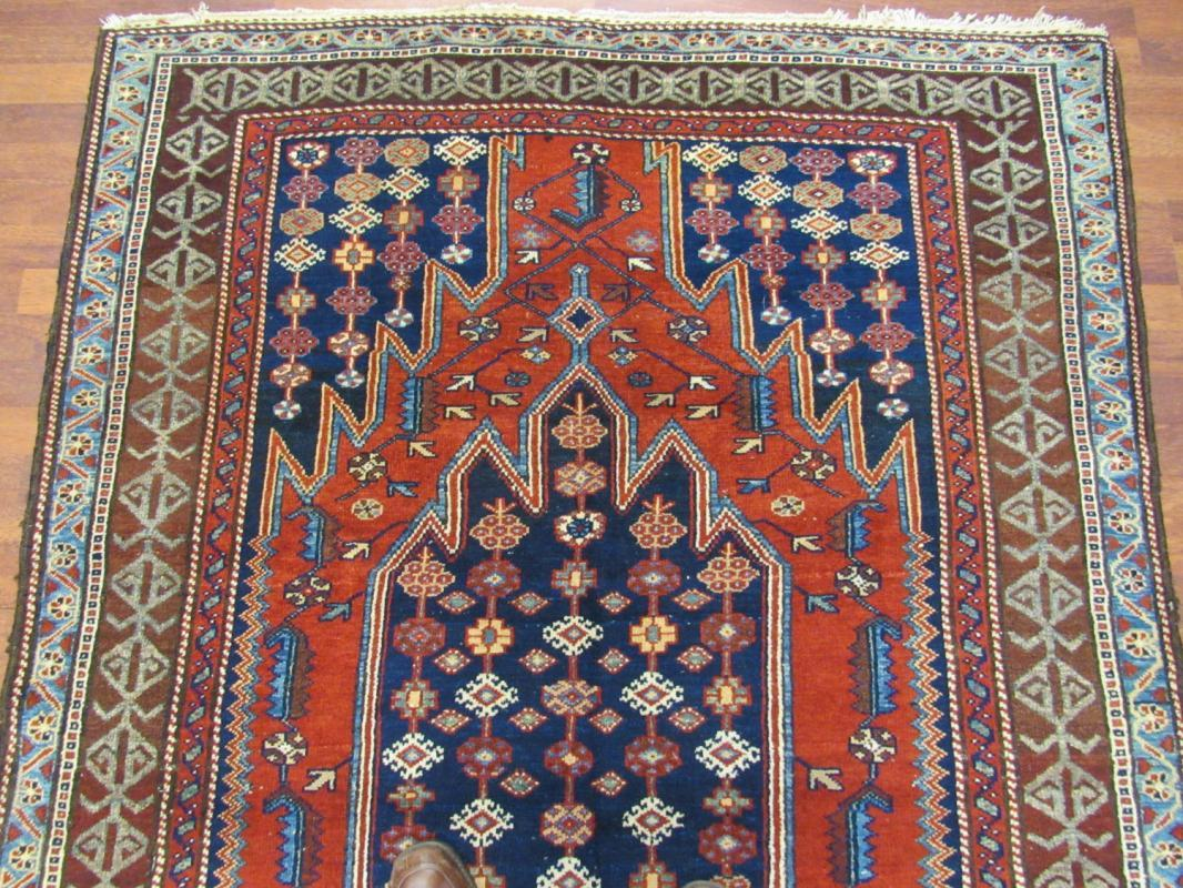 Antique Persian Malayer / Marzeghan Rug -4388