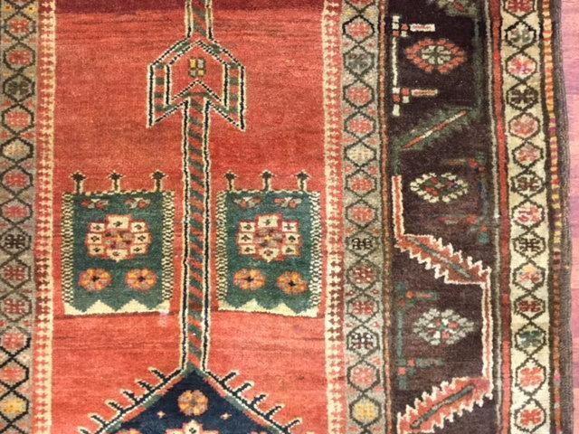 Antique Persian Bakhshayash Runner-3476