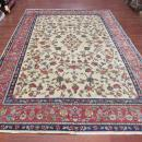 Antique Persian Bird of Paradise Kirman Rug-3086.