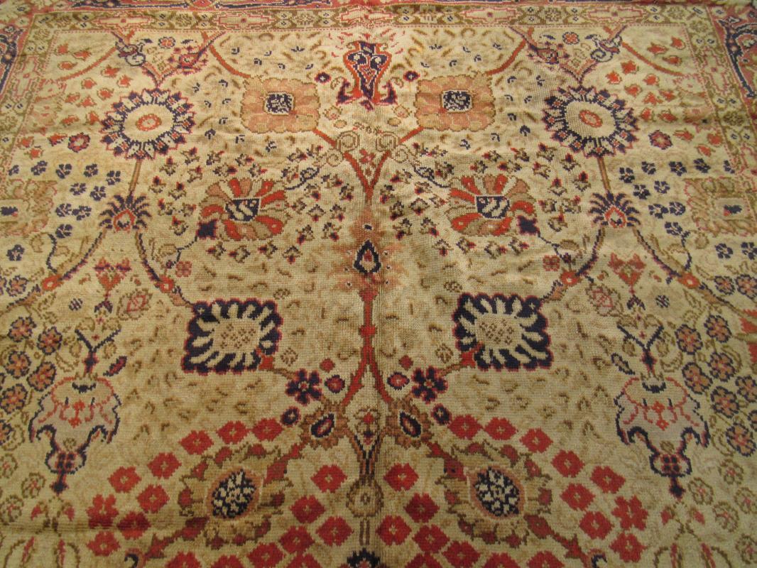 Antique Floral Turkish Rug-1599