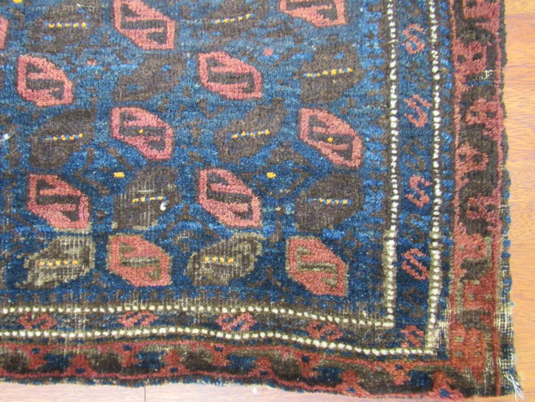Antique Persian Baluch Sadel Bag-2733