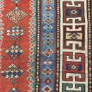 19th C Gendje Caucasian Rug-2615
