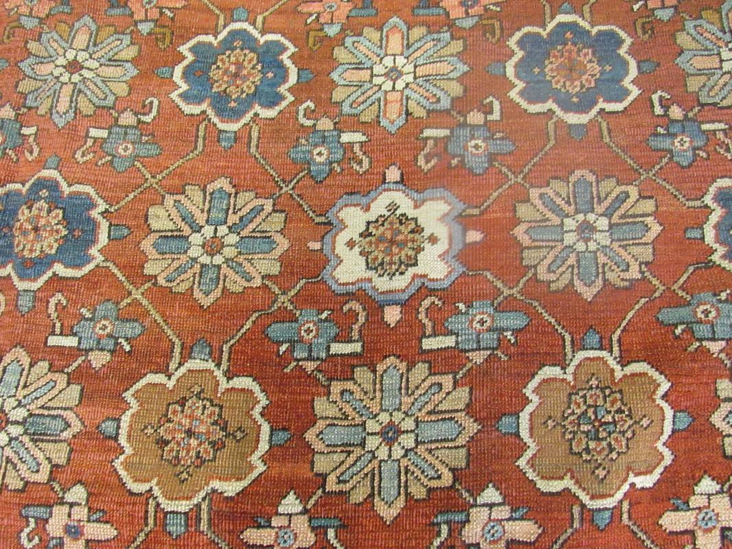 19th Century allover Persian Bakhshayash Rug-3505
