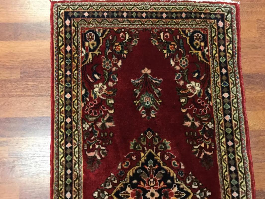 Antique Persian Sarouk Rug-4476