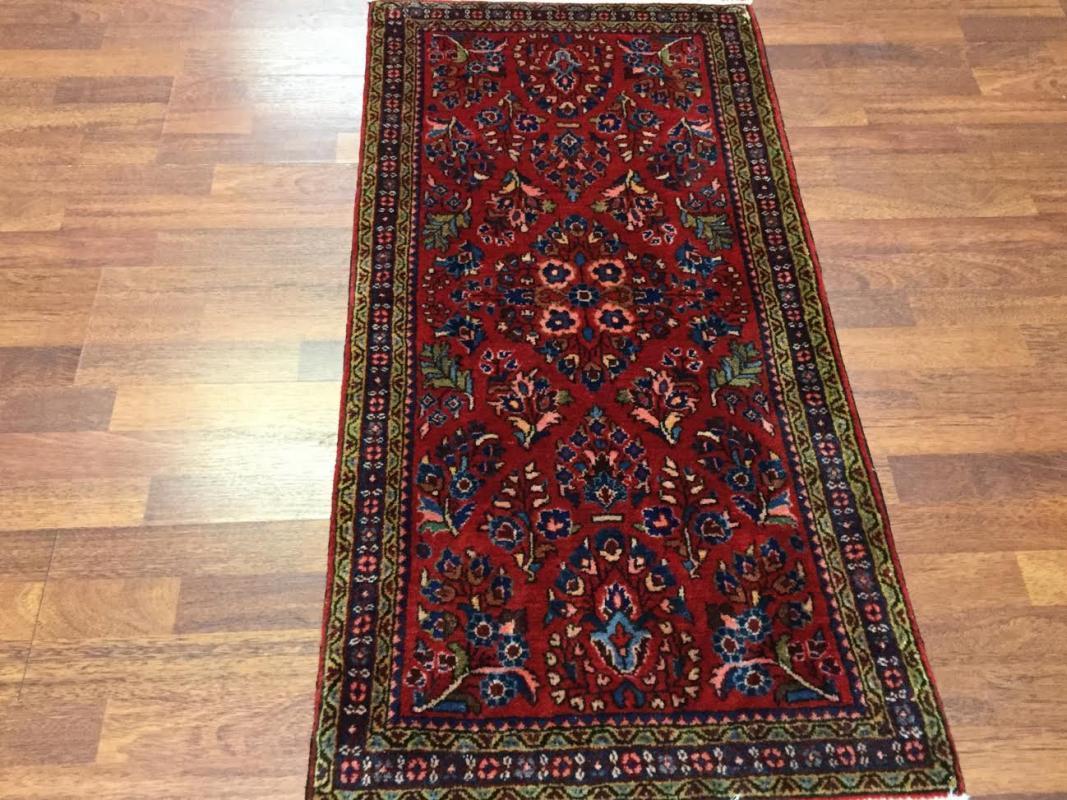 Antique Persian Sarouk Rug-4477