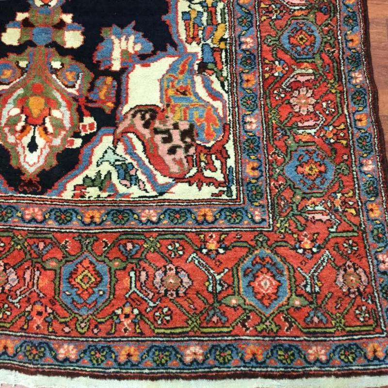 Antique Persian N.west Gallery size Rug-3295