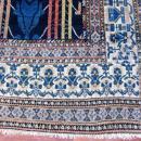 Unique Antique Persian Seneh Rug-4402