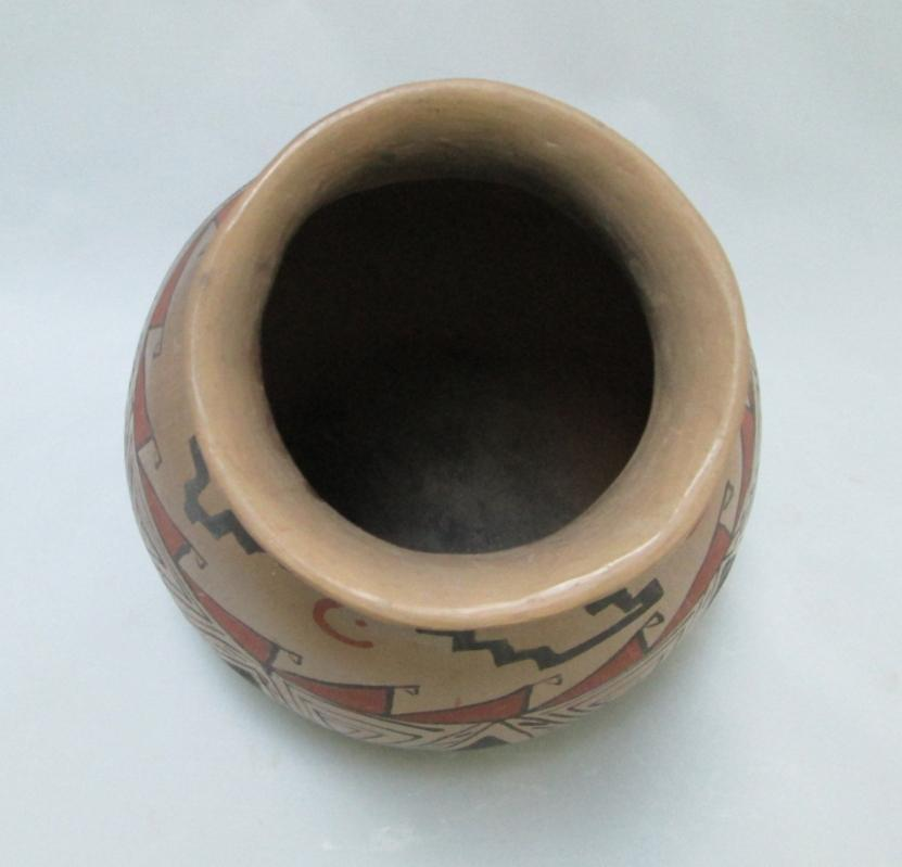 Mexican Pottery Vintage Mata Ortiz Olla