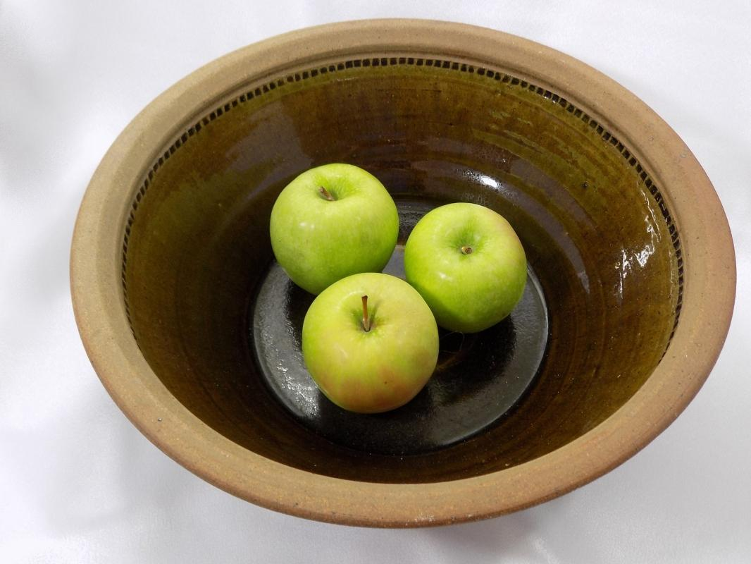 Stoneware Bowl by Clary Illian Renowned Potter and Author