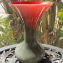 Murano Glass Trumpet Vase by Vincenzo Nason  Original Label
