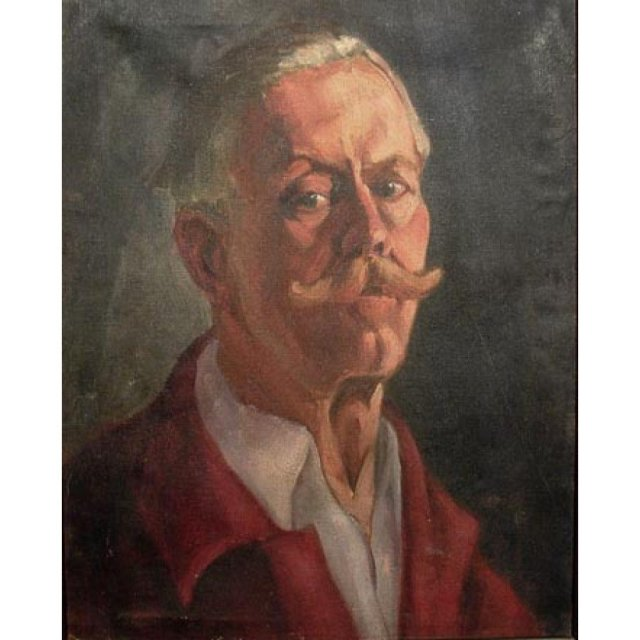 Portrait by Canadian Ukraine Painter Silvia G. Schurick
