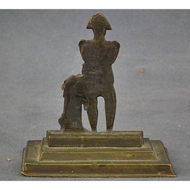 Antique Miniature Bronze sculpture of Napoleon Bonaparte