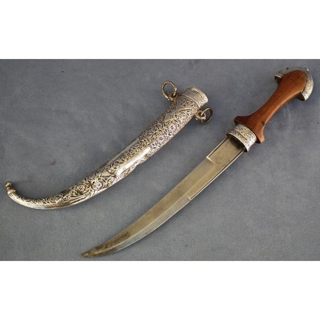 Antique Moroccan Jambiya Islamic dagger Koummya 19th c