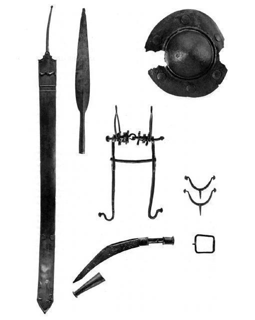 Ancient 2nd-1st century B.C. Celtic Iron Dagger Knife