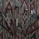 Antique 17th century Ukrainian Zaporizhians Cossacks Hetman Mace Bulava