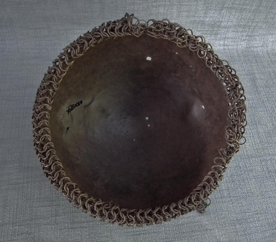 Antique 17th Century Russian Muscovite With Camail Of Chain Mail