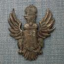 Antique 18th Century 1700-1763 Polish Military Eagle Augustus II Strong Period