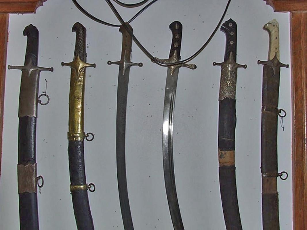 Antique 18th century Silver-Mounted Turkish Ottoman Or Polish Sword Karabela