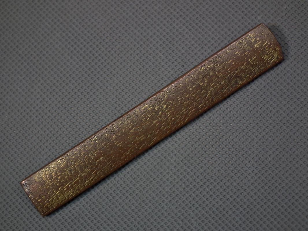 Antique Japanese Samurai Knife Handle Kozuka With Dragon & Tiger