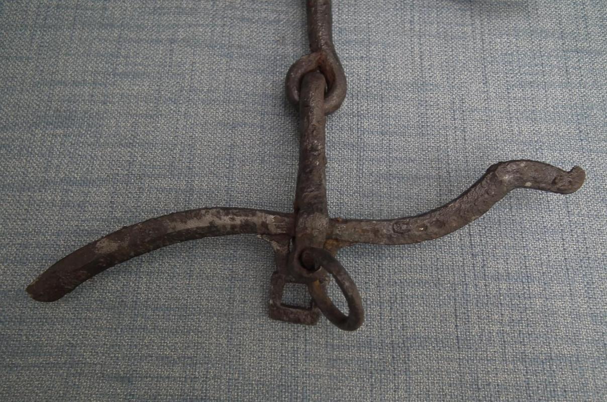 Antique Medieval 9th-10th century Khazar Horse Curb Bit