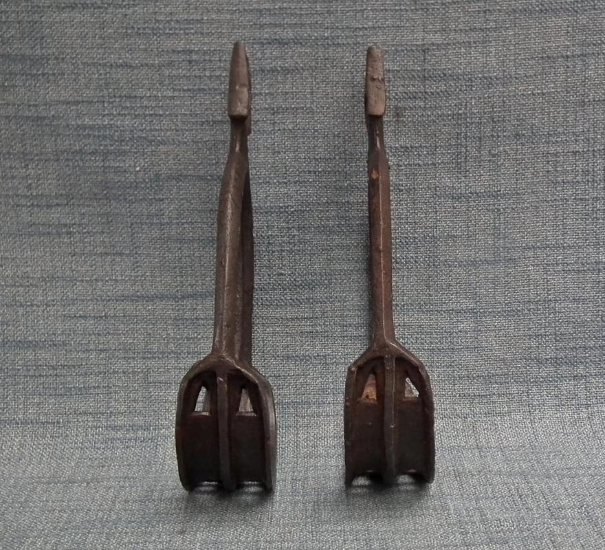 Antique Medieval 6th-7th century Avar iron Stirrups
