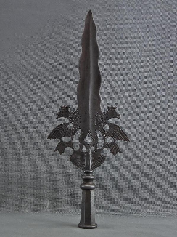 Antique Circa 1730 Saxon Polish Partisan Guard Of King Augustus II 18th Century Saxony-Poland