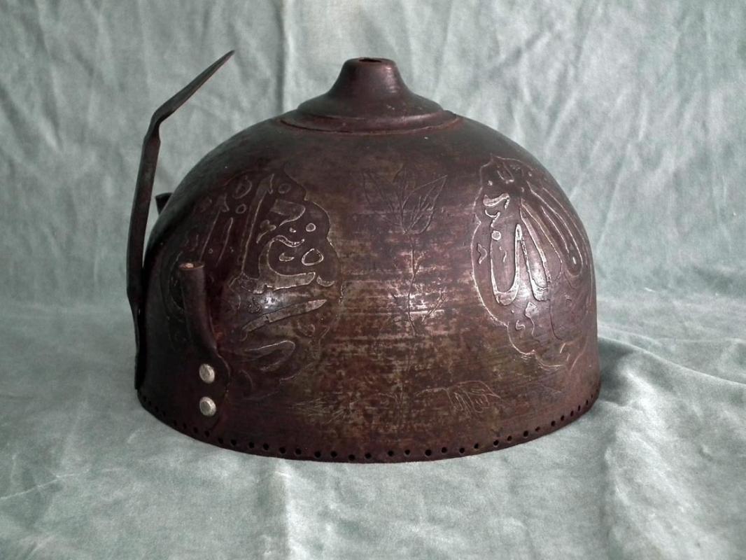 Antique Indo Persian Islamic Helmet Kulah-Khud