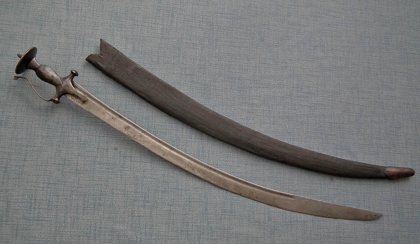 Antique Indo Persian Islamic Sword Indian Talwar Tulwar 18th century Mughal India