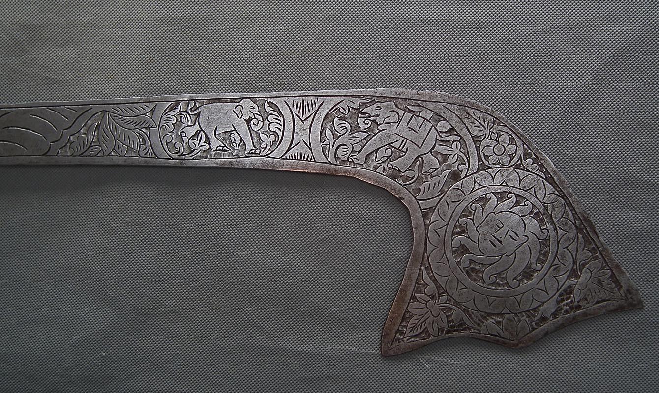 Antique 18th-19th Century Indo-Persian North Indian Sword Kora
