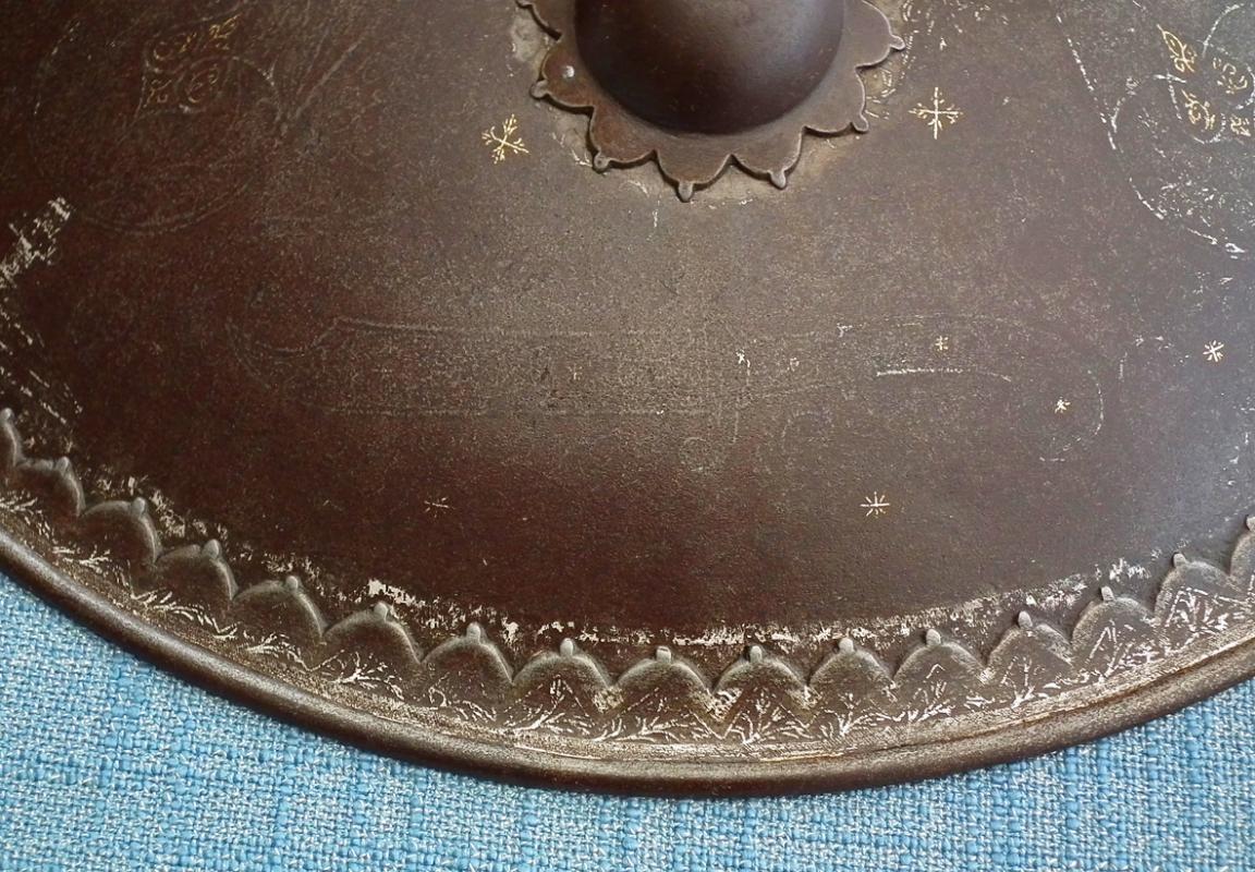 Antique 18th – 19th century Indo Persian shield Dhal Separ