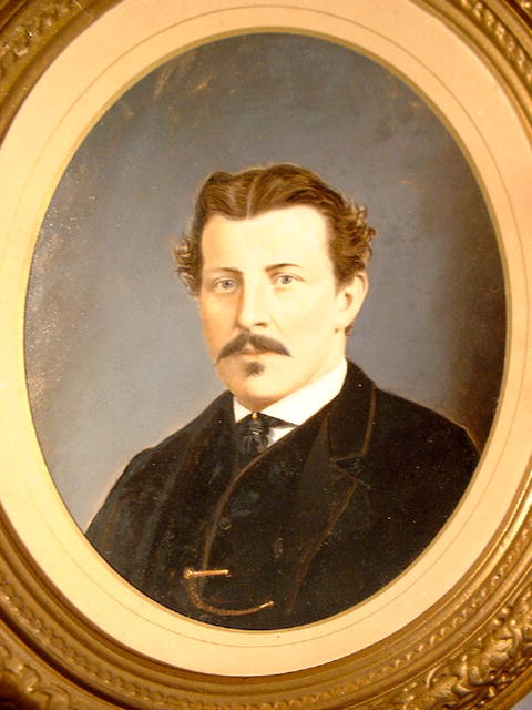 Antique Portrait of a Gentleman, unsigned