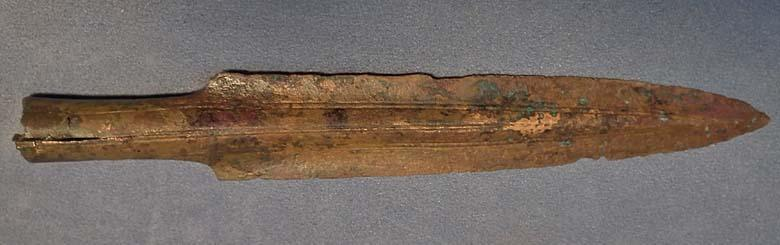 Ancient European Bronze Socked Spearhead Bronze Age 11th-8th c B.C.