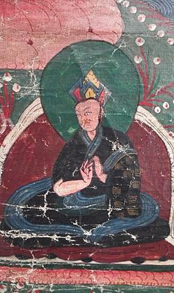 Antique Tibetan Thangka Thanka Avalokiteshvara Buddha Tangka 18th 19th c