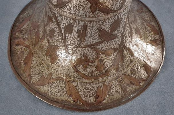 Antique Indian Mughal Islamic Huqqa 18th c India