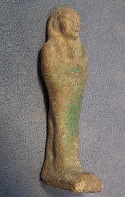 Ancient Egyptian Faience Ushabti Shabti circa 800-300 BC