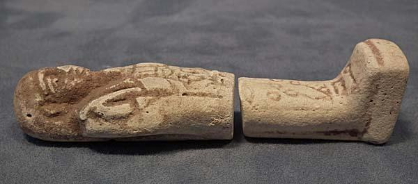 Authentic Ancient Egyptian White Faience Shabti Ushabti Hieroglyphic Inscription 1550-712 BC