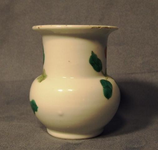 Antique Chinese Baluster Porcelain Vase Qing Dynasty circa 1900