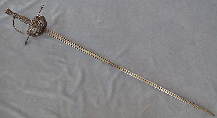 Authentic Antique over 100 years old European Sword Rapier