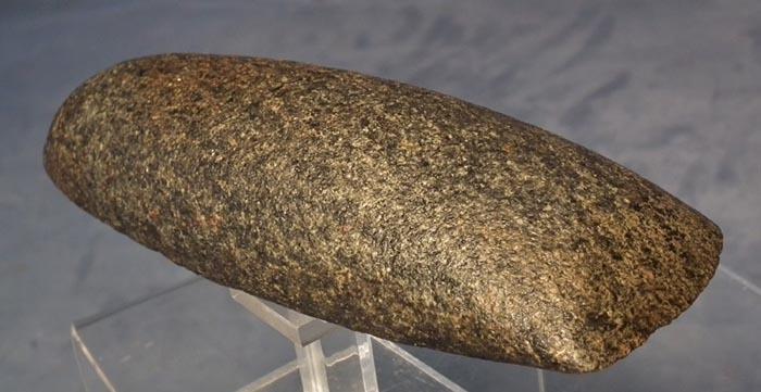 Antique Pre-Columbian Large Stone Celt axe Maya Post-Classic 900-1521 AD