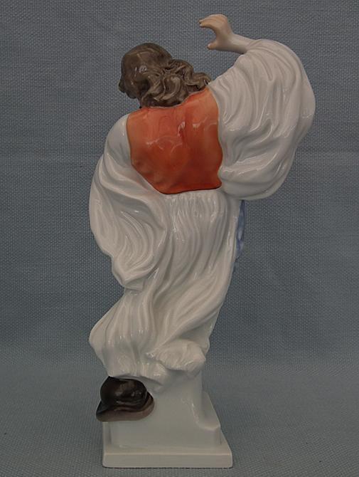 Vintage Hungarian Herend Porcelain Figurine Hungarian Peasant Dancing