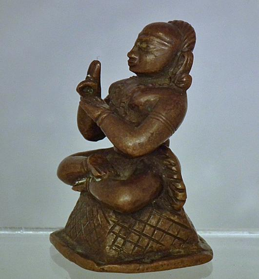 Antique 17th – 18th Century Indian Bronze Figure of a Hindu Antique
