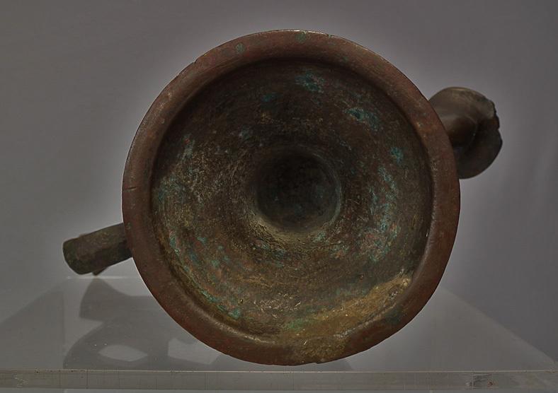 Antique Medieval Islamic Seljuk Seljuq Turks Bronze Oil Lamp Khorasan 12th C