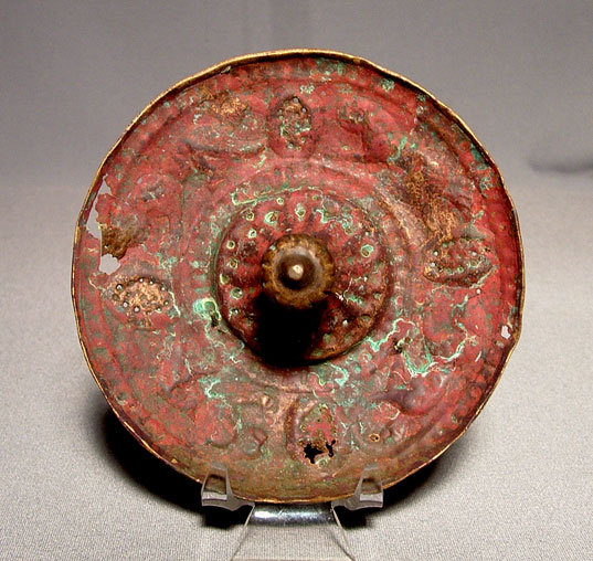 Antique Seljuk Bronze Tray, 12th Century