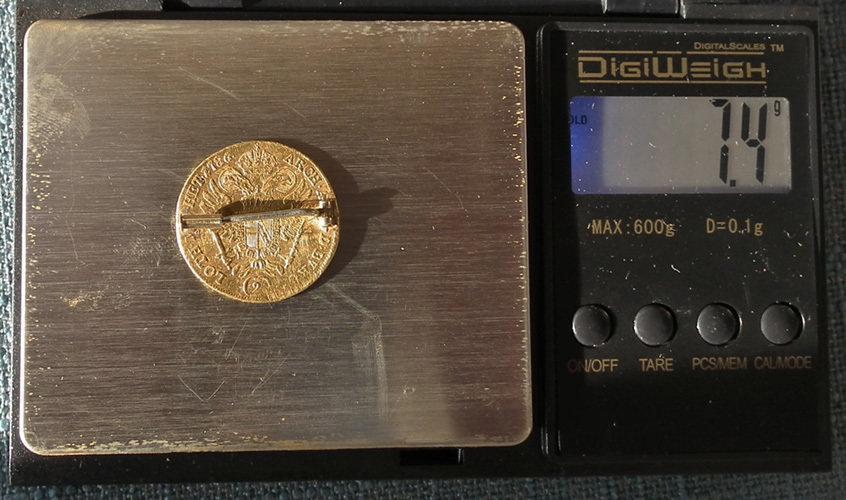 Austrian Joseph II Gold Coin 1786 A 2 Ducat Austria Holy Roman Empire