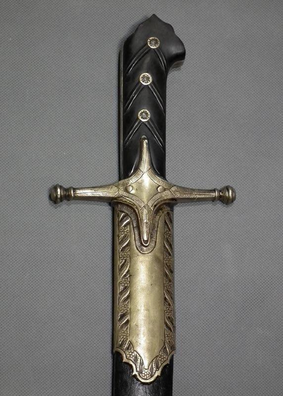 Rare Antique 18th Century Turkish Ottoman Or Polish Sword Karabela