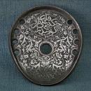 Antique 18th-19th Century Turkish Ottoman Silver Inlaid Iron Islamic Horseshoe