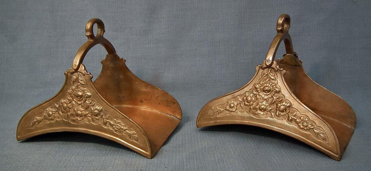 Antique 18th Century Islamic Turkish Ottoman Tombak Stirrups